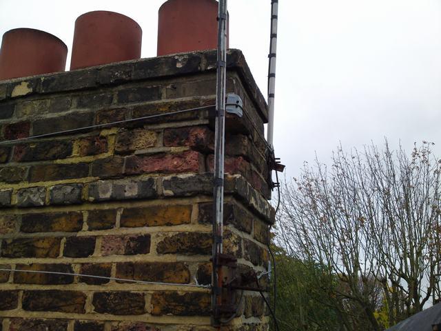 Weathred Victorian Chimney Stack