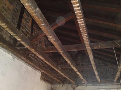 Roof inside